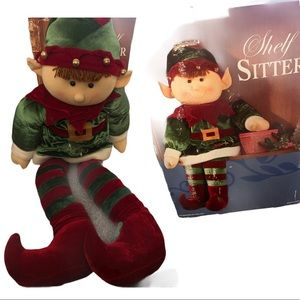 Shelf Sitter Christmas Elf 41 inches tall